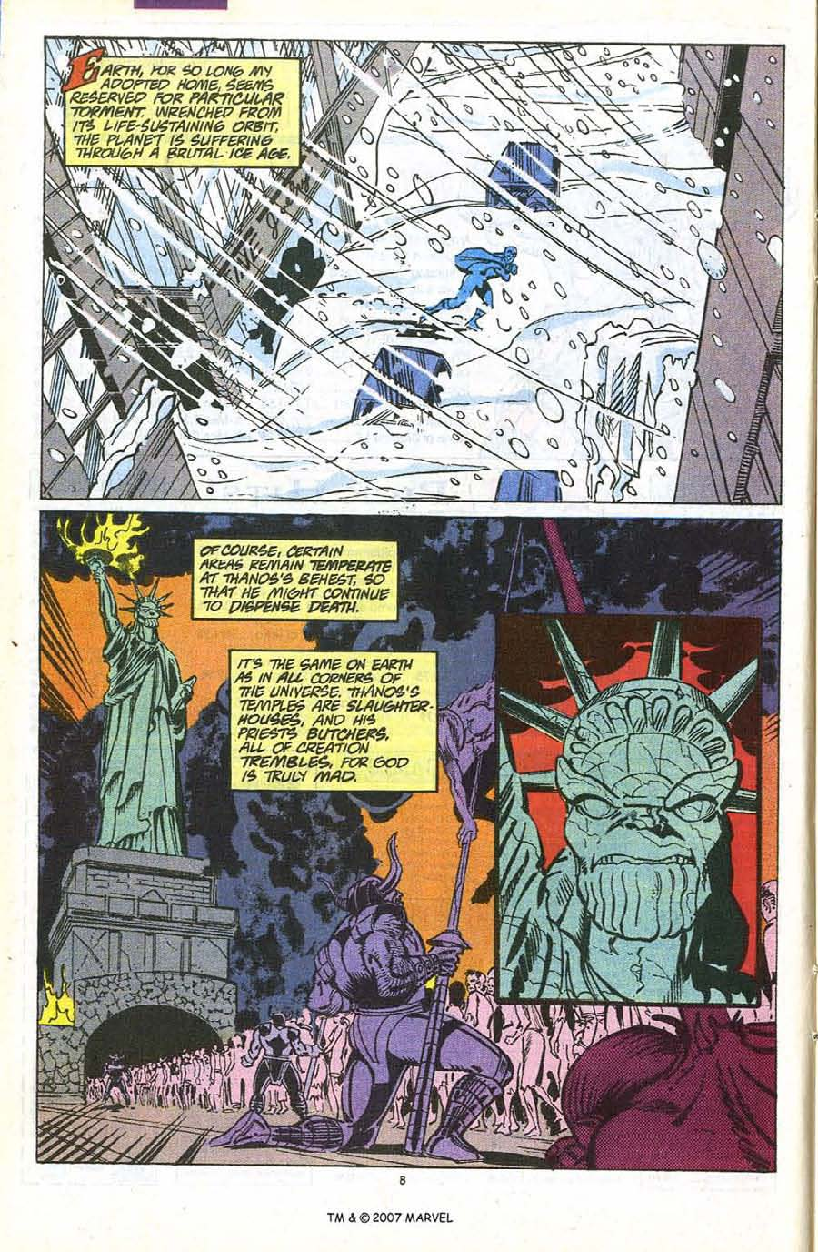 Read online Silver Surfer (1987) comic -  Issue #56 - 10