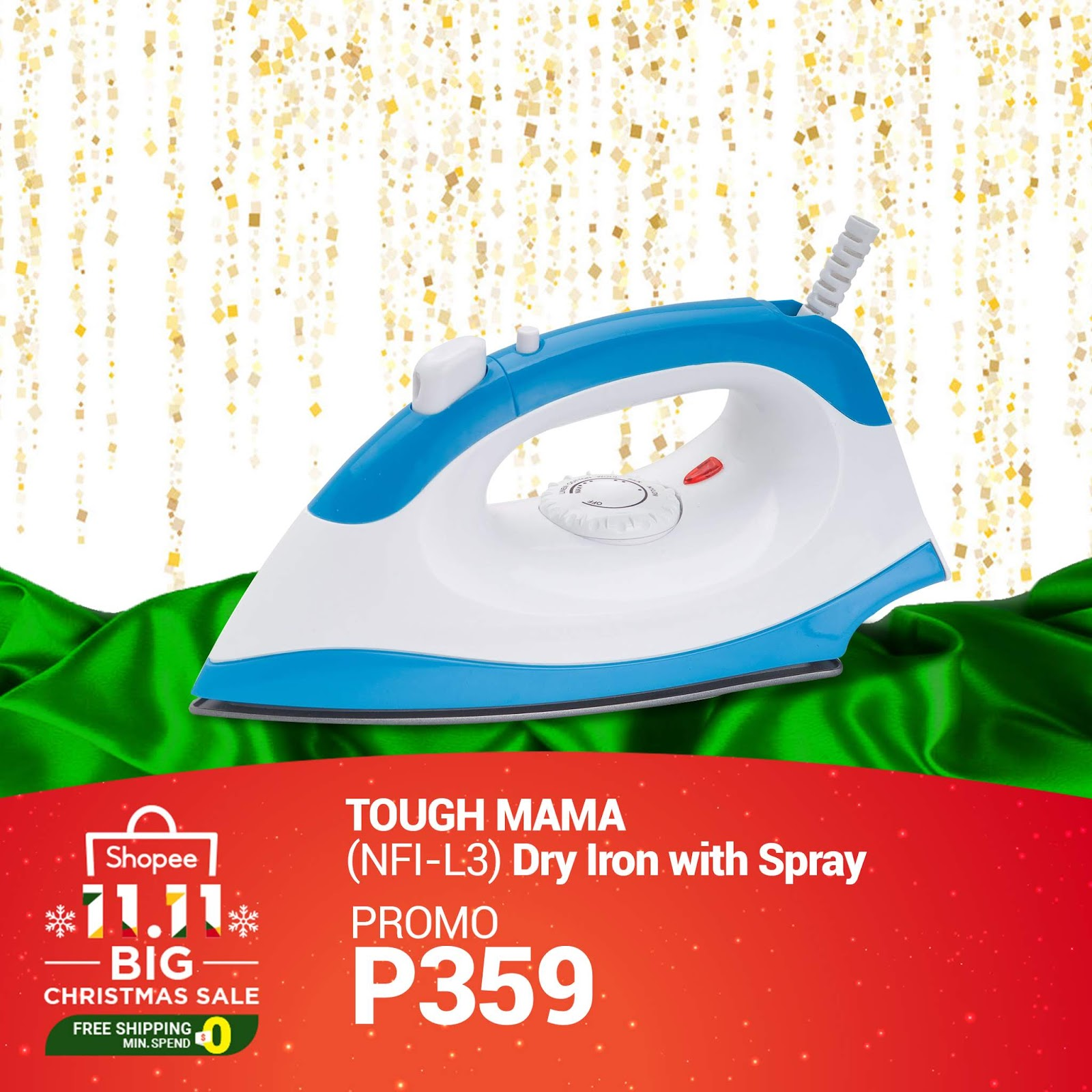 Up to 50% OFF on Robinsons Appliances at Shopee 11.11 Big Christmas Sale