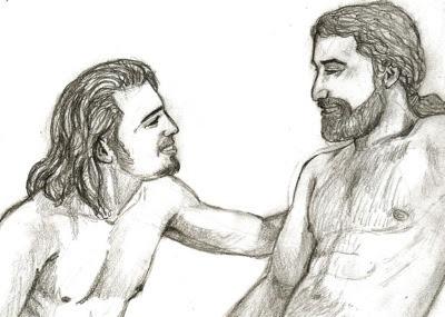 david and jonathan homosexual relationship