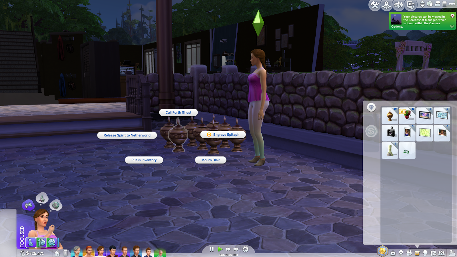 Kluenii's Sims 4 Legacy Family: Tombstone Recovery