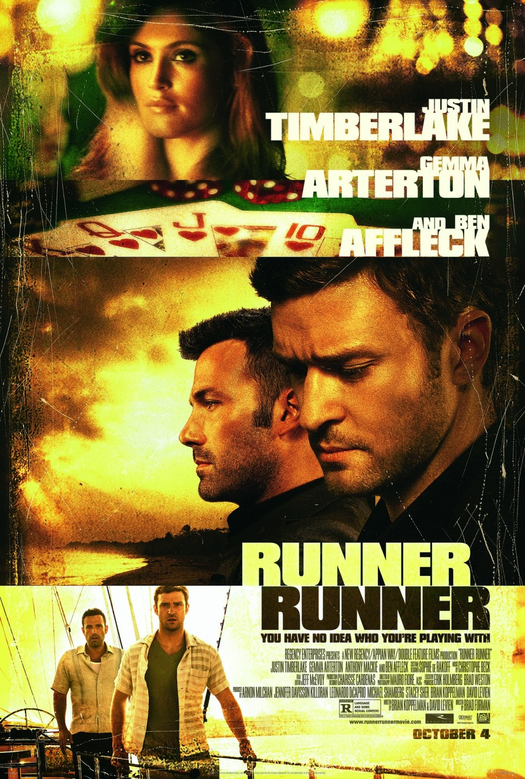 Runner Runner ตัดเหลี่ยมเดิมพันอันตราย [HD][พากย์ไทย]