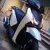 Honda SH Việt sơn màu trắng đen zin cực đẹp