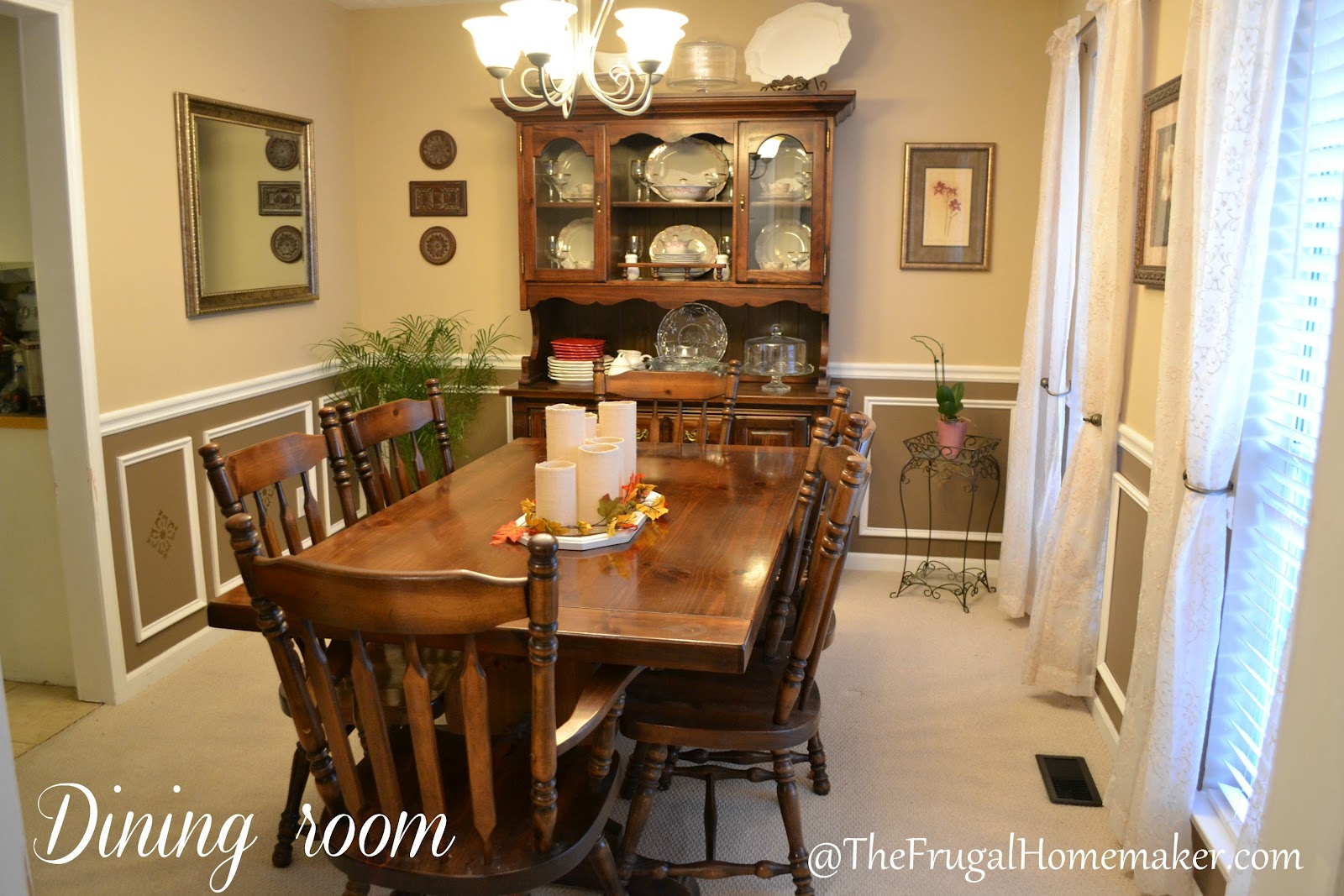 Dining Room Makeover Happily Ever Before And After Week 4 Dining Room Makeover