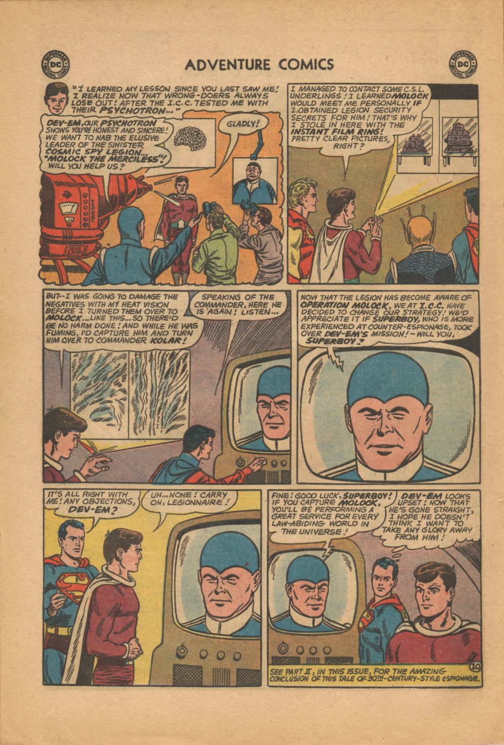 Read online Adventure Comics (1938) comic -  Issue #320 - 12