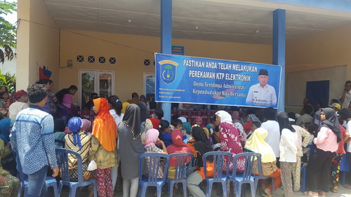 Disdukcapil Sambangi Kec. SP Padang