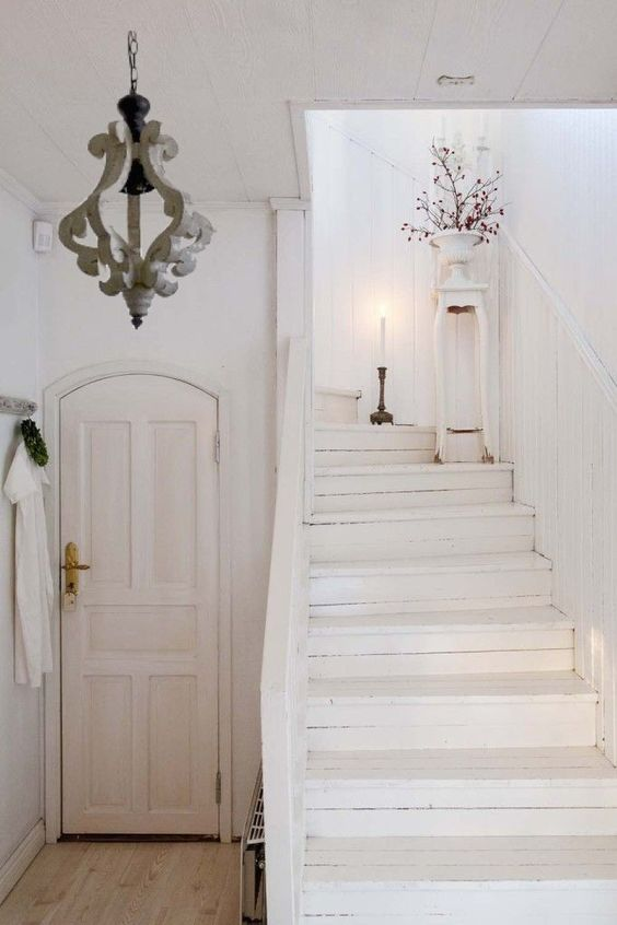 Eye For Design Decorating With White Painted Hardwood Floors