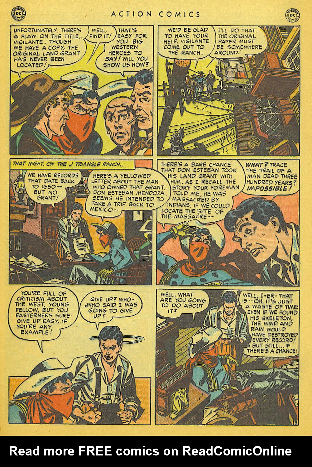 Read online Action Comics (1938) comic -  Issue #142 - 42