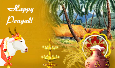 Happy Pongal Greetings for Relatives