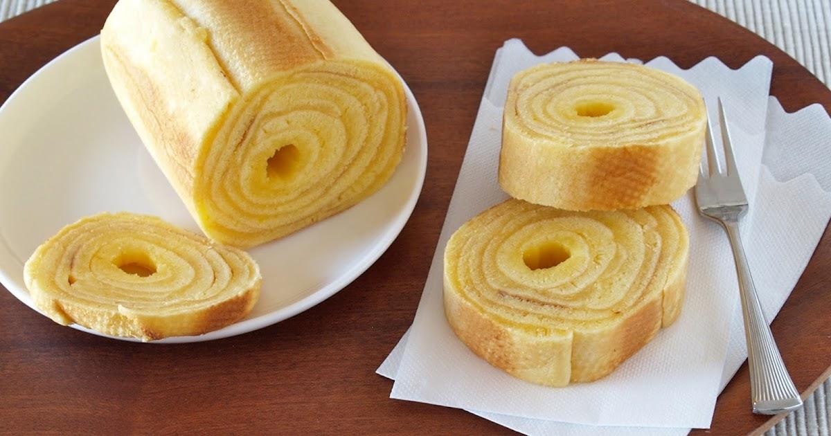 Japanese Layered Cake Recipe: How To Make Baumkuchen (German Layered Cake) At Home