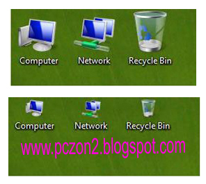 Easy Change Desktop Icon Size in Windows 7 & Vista - SSC Result 2017