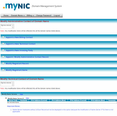 mynic .my backend management panel