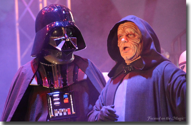 Darth Vader and Emperor Palpatine, Disney Hollywood Studios, Walt Disney World ~ photo by Deb Silhan