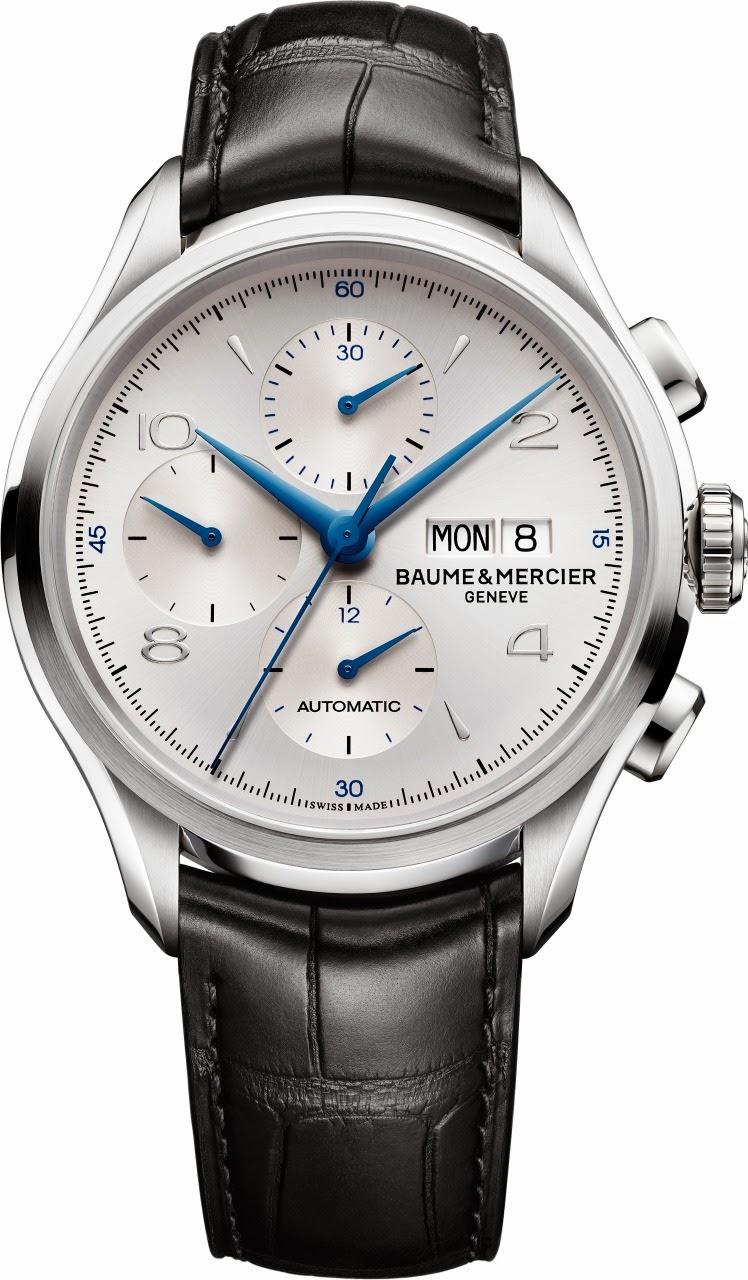 e9c36f924c9 Cronógrafo automático com estética e acabamentos inspirados em relógios  fabricados pela C. H. Meylan Watch