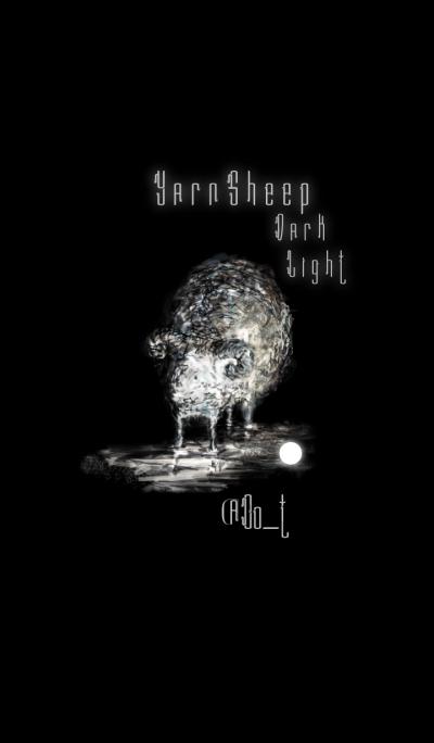 Yarn Sheep Dark Light.
