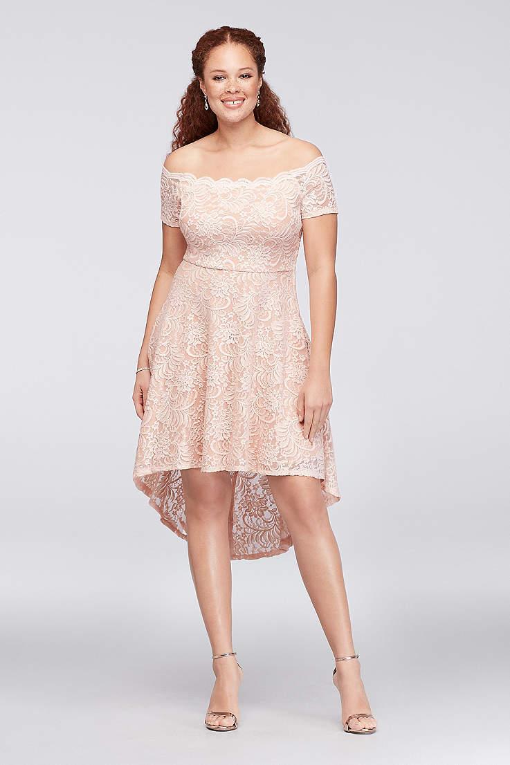 Two Gorgeous Cheap Plus Size Bridal Shower Dresses Under $100 ...