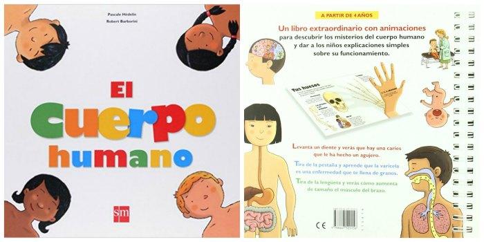 libros infantiles, materiales, actividades manualidades aprender cuerpo humano sm