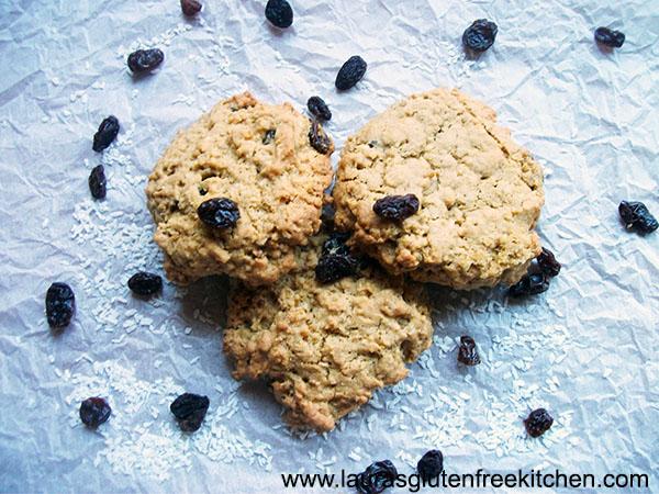 Raisin & Coconut Oatmeal Cookies
