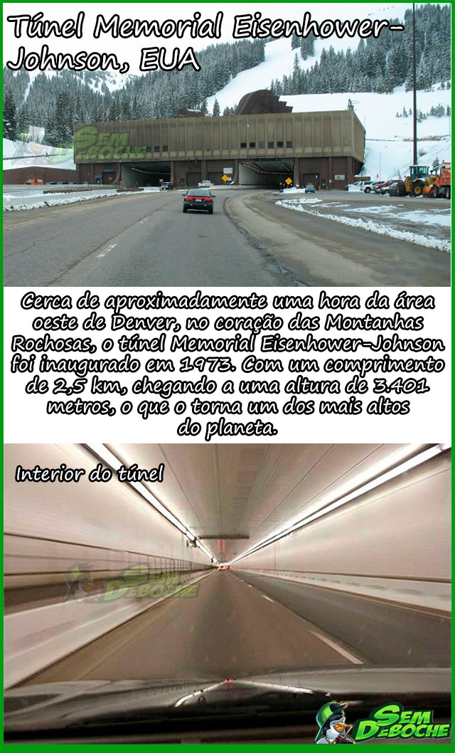 Túnel Memorial Eisenhower-Johnson, EUA