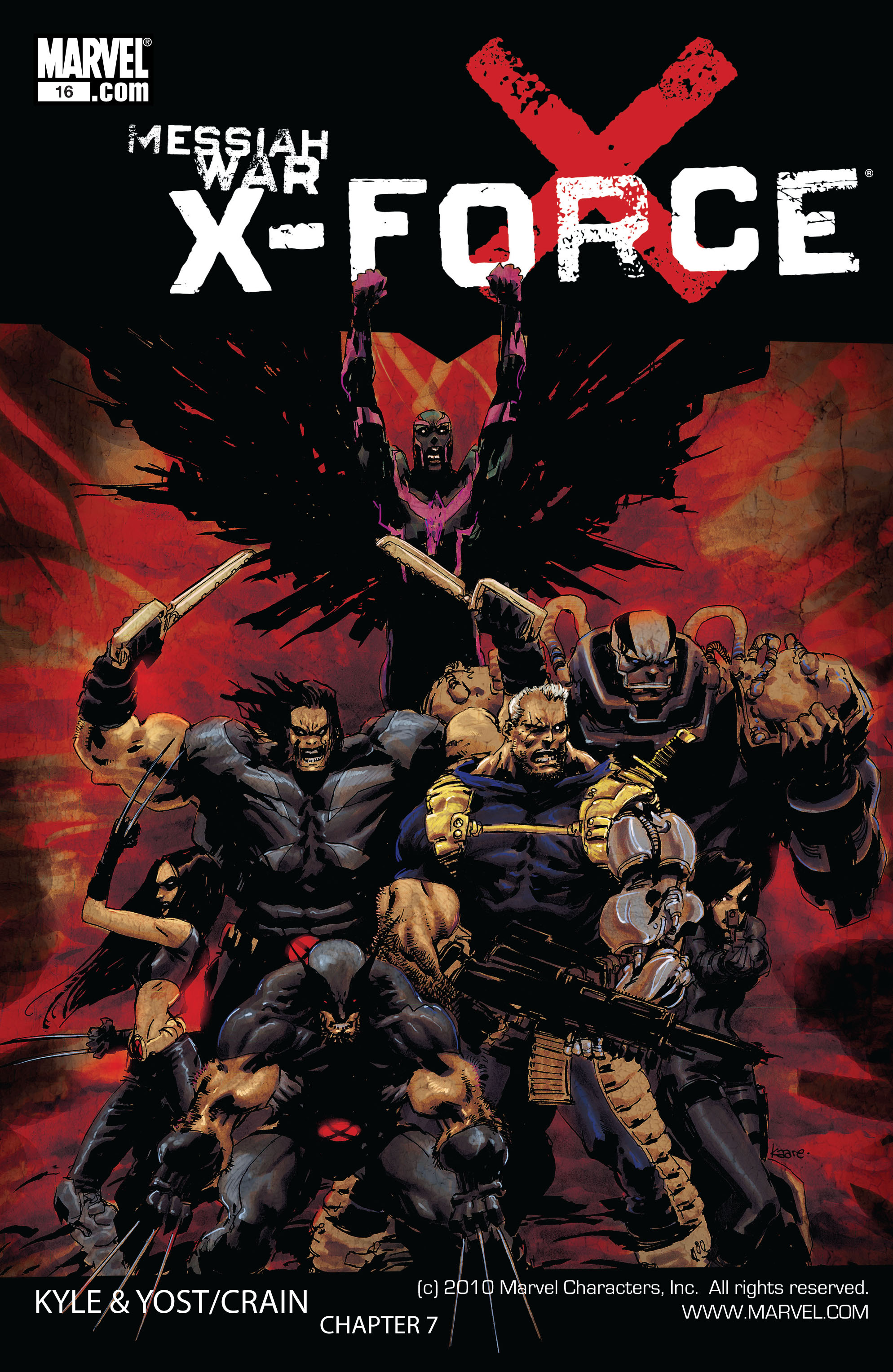 Read online X-Force (2008) comic -  Issue #16 - 1