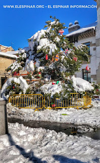 nevada el espinar segovia nieve 2018 cota record ap6