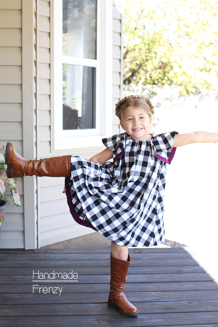 TIP Top Dress & Tunic Pattern // Handmade Frenzy // Sewing For Girls