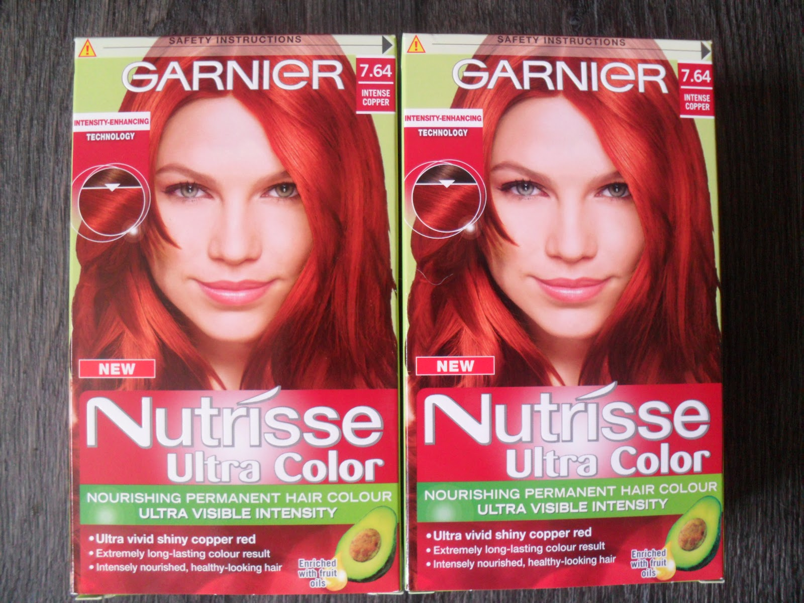Garnier Nutrisse Ultra Color Light Intense Auburn Hairstyle