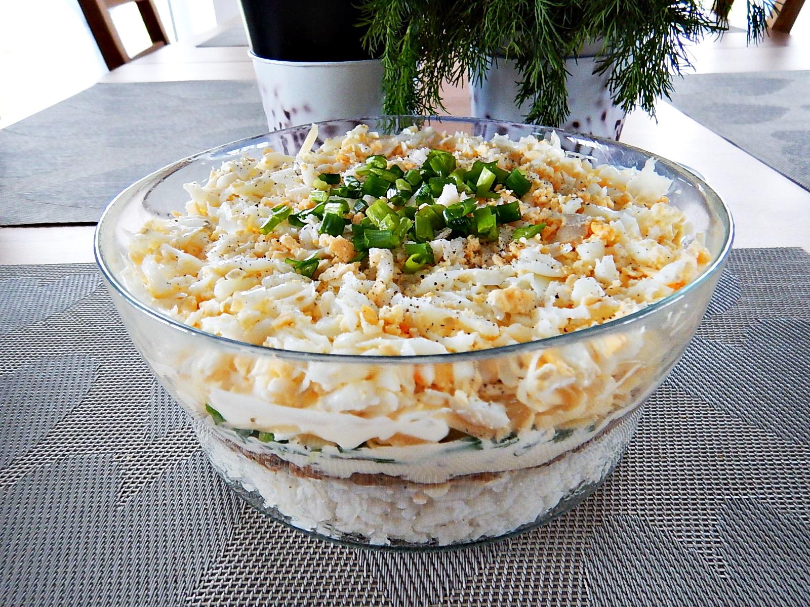 Kuchnia Pod Lipami: Świąteczne sałatki