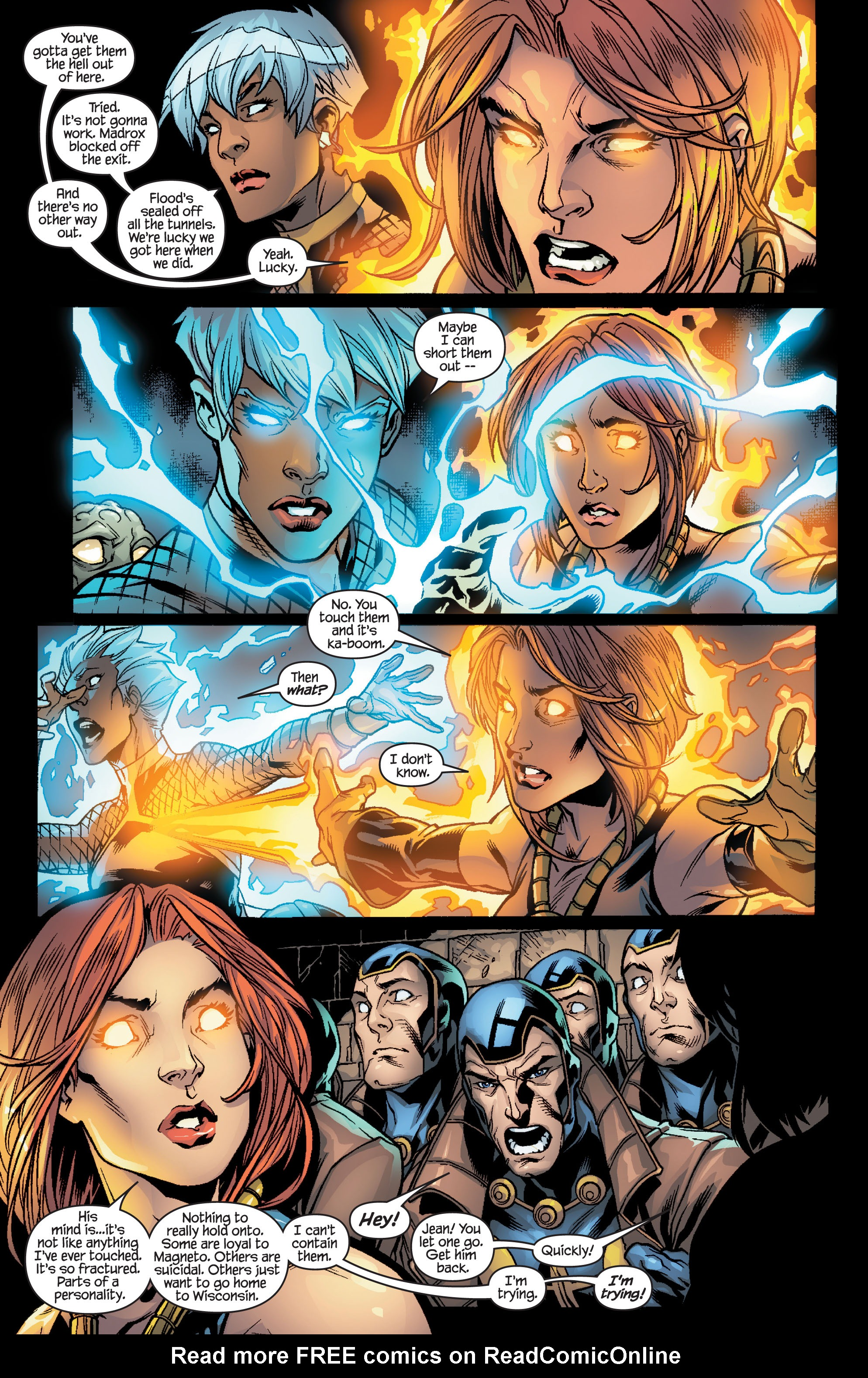 Read online Ultimate X-Men comic -  Issue #100 - 15