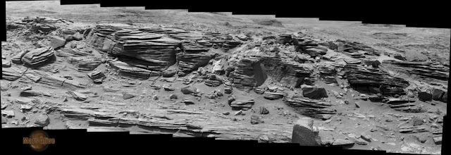 Sol 1073 Curiosity Right Mastcam (M-100) Pahrump Hills