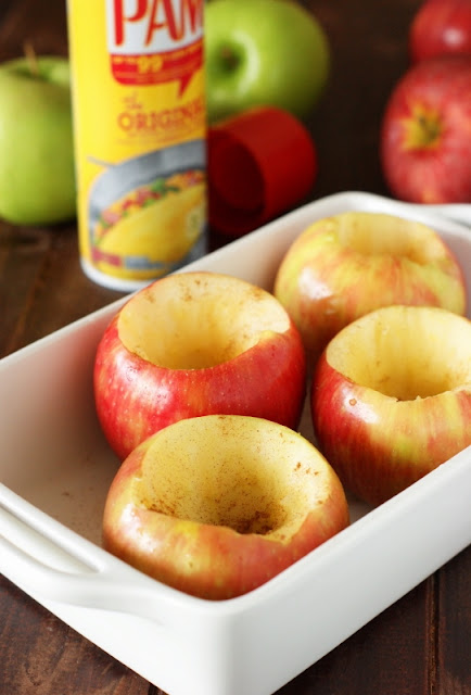 Filled with honey and cinnamon, Simple Honey-Baked Apples are a perfect fall-comfort-food dessert. AD  www.thekitchenismyplayground.com