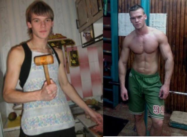 Hombres que decidieron iniciar un estilo de vida diferente