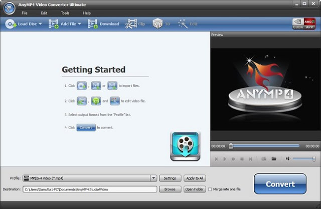 AnyMP4 Video Converter Ultimate 7.0.22 Full Cracked