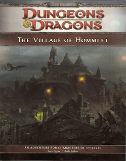 The Village of Hommlet 4th Edition cover