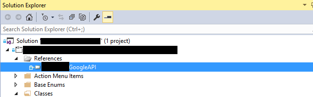 D365FO – Adding a custom  dll to a project that can be