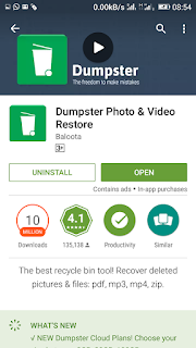 Downloading Dumpster