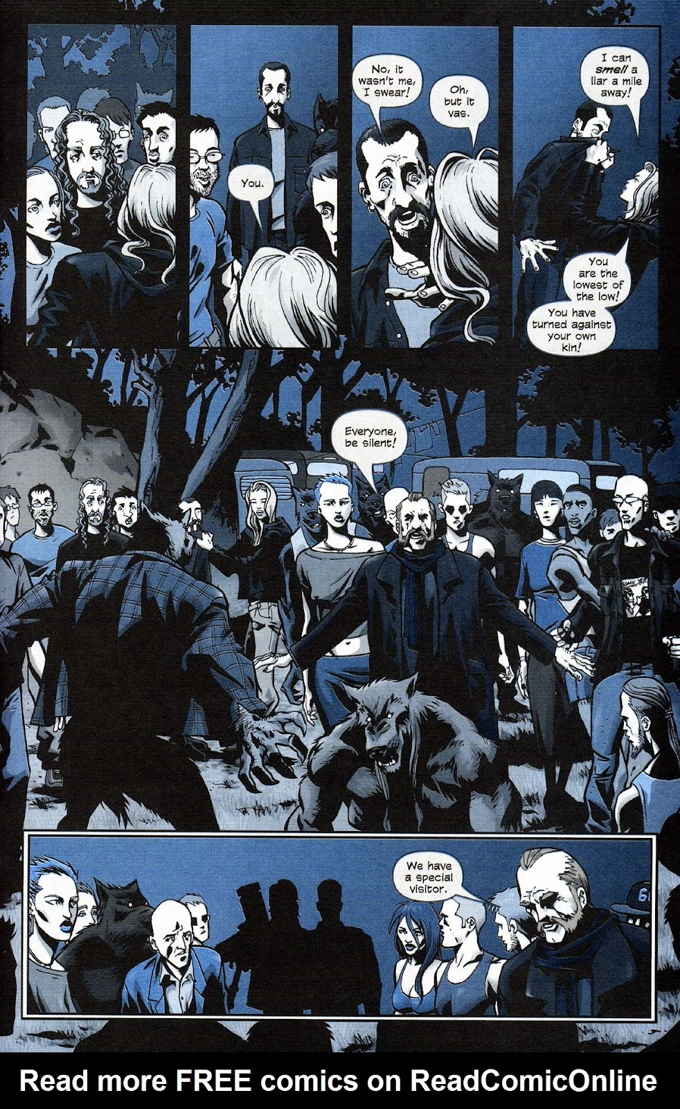 Read online Werewolf the Apocalypse comic -  Issue # Get of Fenris - 45