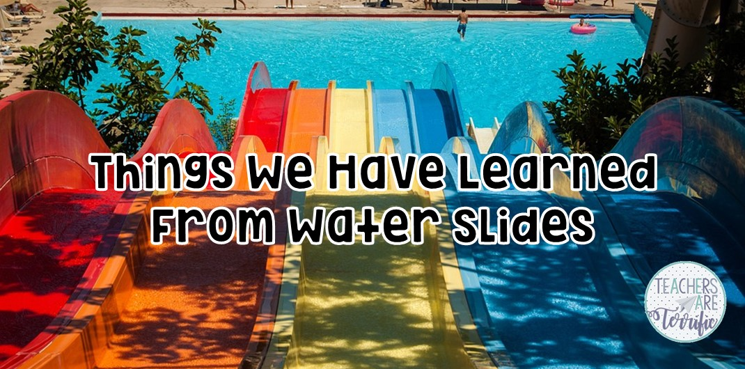 Seasonal STEM Projects that can work all year! Here's a STEM challenge that kids will love all year long, but it also works perfectly for summer time! It's about Water Slides! Check this blog post for details!