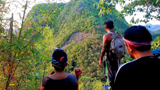 Glimpse of Mt. Hapunang Banoy