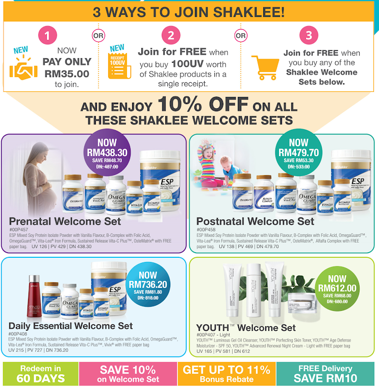 PROMOSI JOM SHAKLEE MAC - JUN 2020