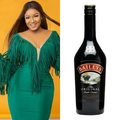 Omotola Jalade and Baileys