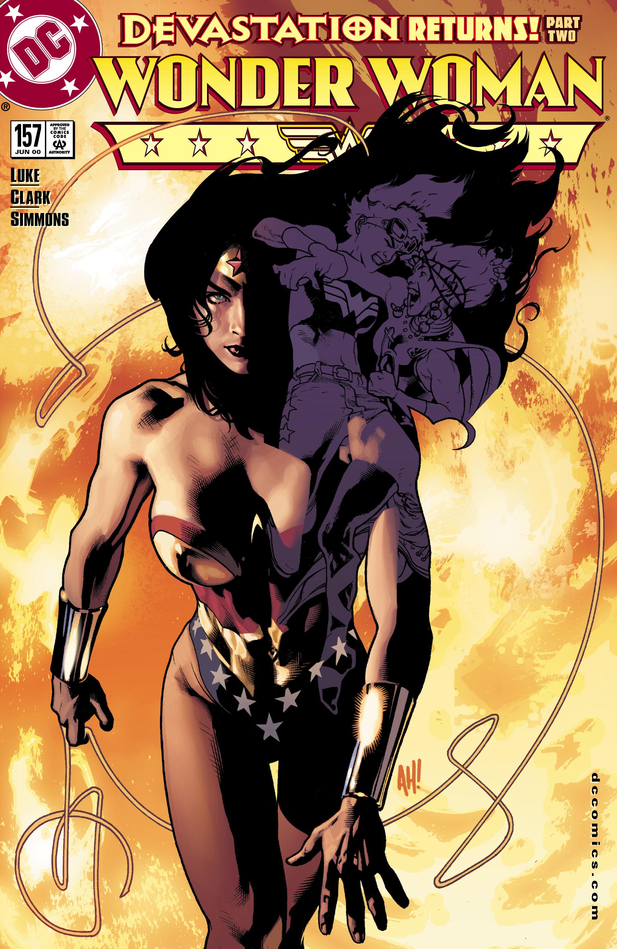 Read online Wonder Woman (1987) comic -  Issue #157 - 1