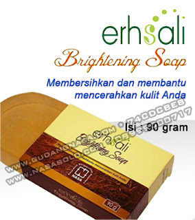 ERSHALI BRIGHTENING SOAP Rp.50.000,-