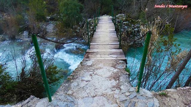 Puente, río Borosa, Pontones, Sierra de Cazorla, Jaén, Andalucía