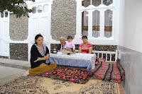 Uzbekistan, Andijan, Indira's home, topchan, © L. Gigout, 2012