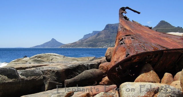 Shipwreck near Sandy Bay