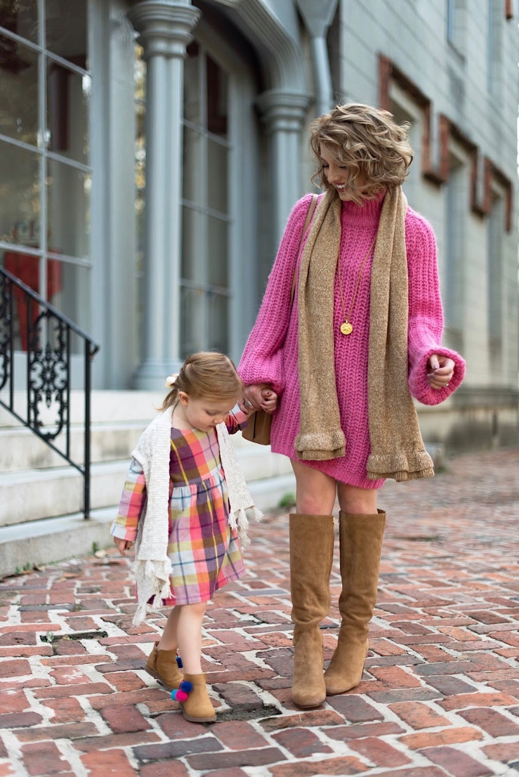 Mommy and Me Looks for Fall - Something Delightful Blog