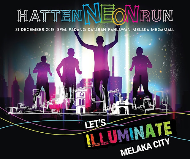 Hatten Neon Nite Run 2015, Hatten Group, UNICEF, neon night run, fitness club, running club, melaka night run, melaka run, running hub, night run, night race