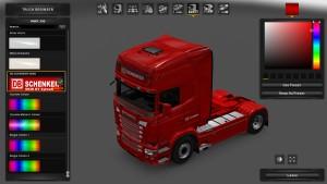 Scania RJL DB Schenker Skin