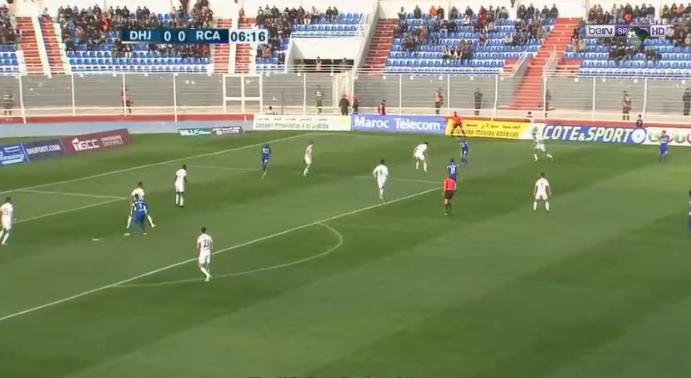 ملخص واهداف مباراة الدفاع الحسني الجديدي والرجاء الرياضي 2 - 4 الاربعاء 30-01-2019 الدوري المغربي
