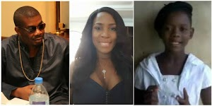 Video of Little girls begging Linda Ikeji to accept Don Jazzy's proposal goes viral (WATCH)